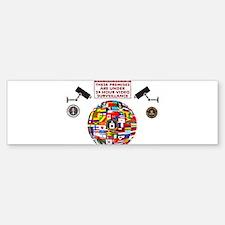 Premises under Surveillance Bumper Bumper Bumper Sticker