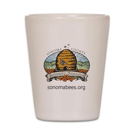 sonomabees.org Shot Glass