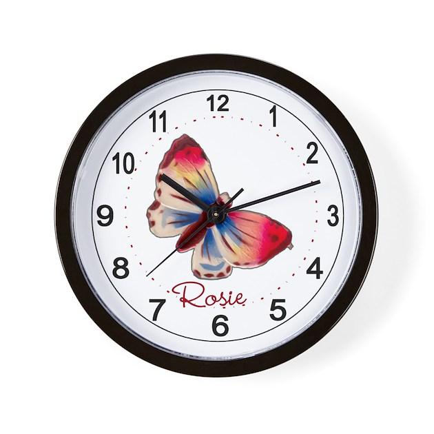 Beautiful Children's Room Wall Clock by AlondrasVintage