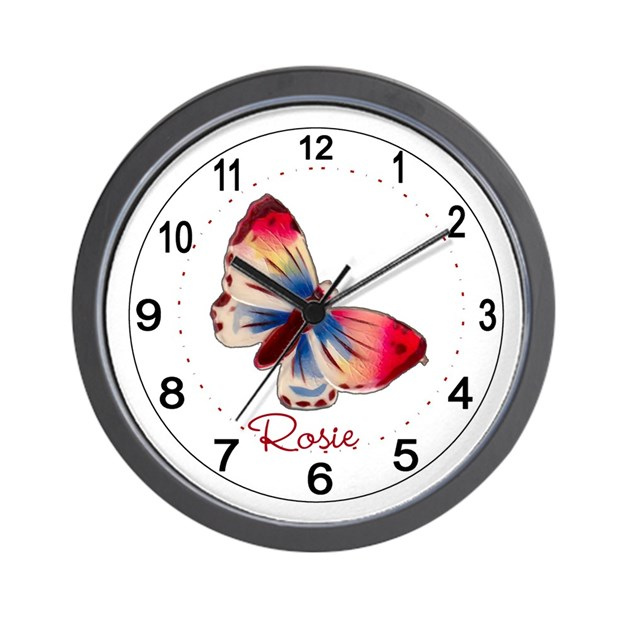 Beautiful children 39 s room wall clock by alondrasvintage for Kids room clock