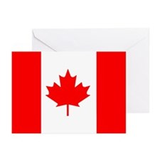 ...Canadian Flag... Note Card (Pk of 10)