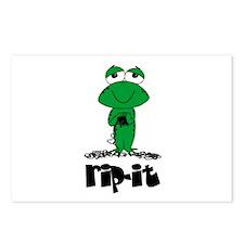 Rip It - Yarn Frog Postcards (Package of 8)