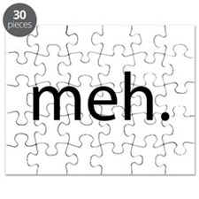meh - saying of indifference Puzzle