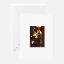 Necking Knitter Greeting Cards (Pk of 10)