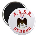 Scottish Rite Berdoo Magnet