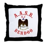Scottish Rite Berdoo Throw Pillow