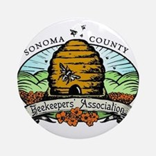 Sonoma County Beekeepers Association Ornament (Rou