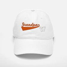 Script Grandpa 07 Baseball Baseball Cap