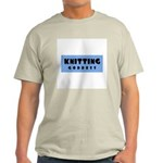 Knitting Goddess Ash Grey T-Shirt