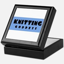 Knitting Goddess Keepsake Box