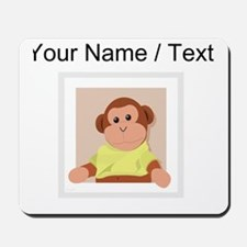 Custom Sock Monkey Mousepad