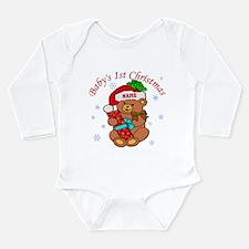 Baby's 1st Christmas Long Sleeve Infant Bodysuit