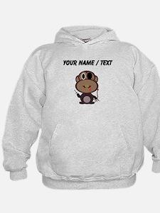 Custom Evil Monkey Hoodie