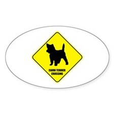 Cairn Crossing Oval Decal