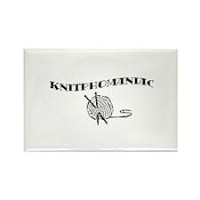 Knitphomaniac Rectangle Magnet