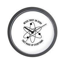 Never Trust An Atom Wall Clock