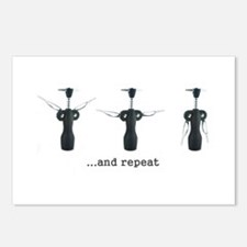 Wine Aerobics Postcards (Package of 8)