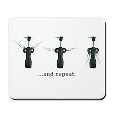 Wine Aerobics Mousepad