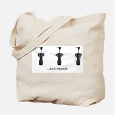 Wine Aerobics Tote Bag