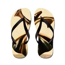 Sufi_Dervish art Flip Flops