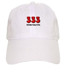 333 Half Evil Baseball Cap