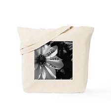 Live Love Run by Vetro Designs Tote Bag