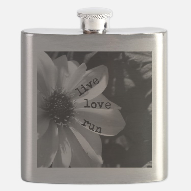 Live Love Run by Vetro Designs Flask