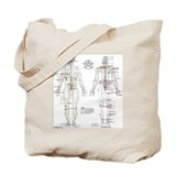 Chinese meridian Canvas Bags