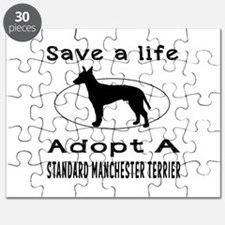 Adopt A Standard Manchester Terrier Dog Puzzle