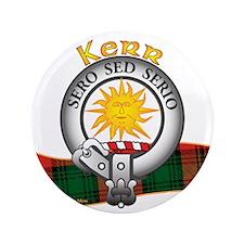 """Kerr Clan 3.5"""" Button"""