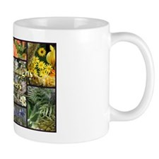 Rainbow colored Earth Laughs in Flowers Mug