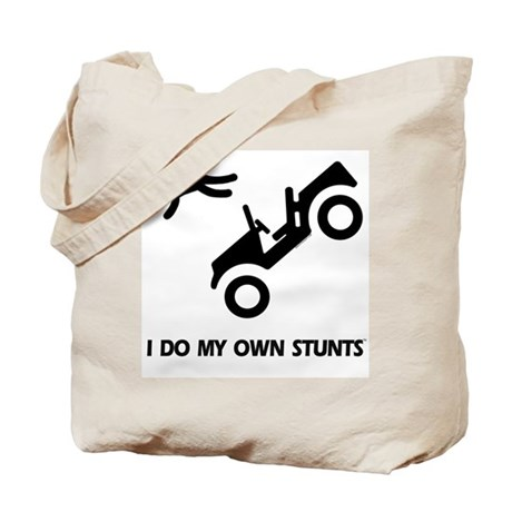 Convertible Jeep, My Own Stunts Tote Bag