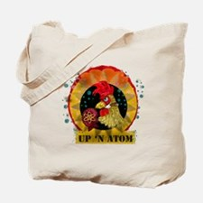 Classic Kitsch WWII Nose Art Up n' Atom Tote Bag