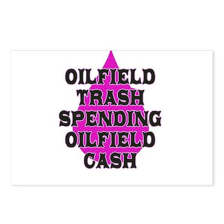 oilfield trash spending oilfield cash Postcards (P