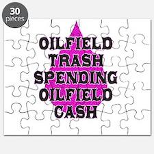 oilfield trash spending oilfield cash Puzzle