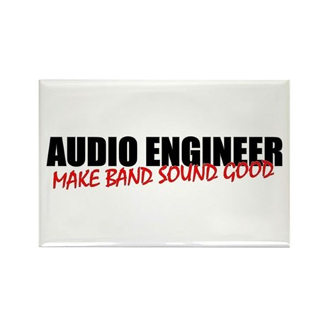 Audio Engineer Rectangle Magnet