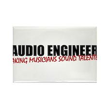 Audio Engineer Rectangle Magnet