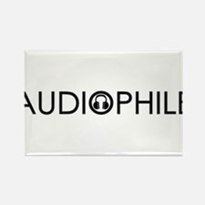 Audiophile - for light.png Rectangle Magnet