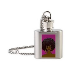 Happy 2 Be Nappy Flask Necklace