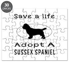 Adopt A Sussex Spaniel Dog Puzzle
