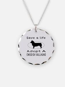 Adopt A Swedish Vallhund Dog Necklace