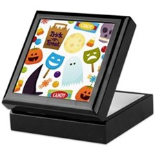 trick or treat v2 Keepsake Box
