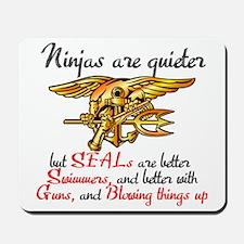 Ninja SEALs Mousepad