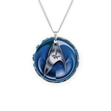 Blue Star Trek Necklace