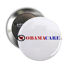 "No Obamacare 2.25"" Button"