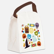 trick or treat v2 Canvas Lunch Bag