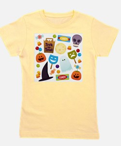 trick or treat v2 Girl's Tee