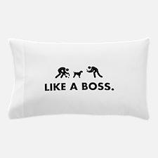 Black Russian Terrier Pillow Case
