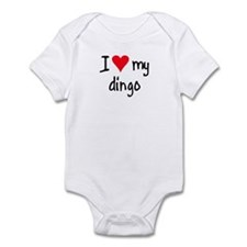 I LOVE MY Dingo Infant Bodysuit