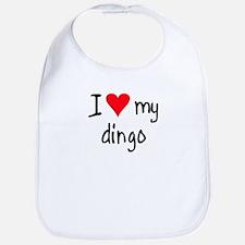 I LOVE MY Dingo Bib